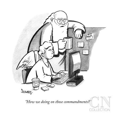 benjamin-schwartz-how-we-doing-on-those-commandments-new-yorker-cartoon